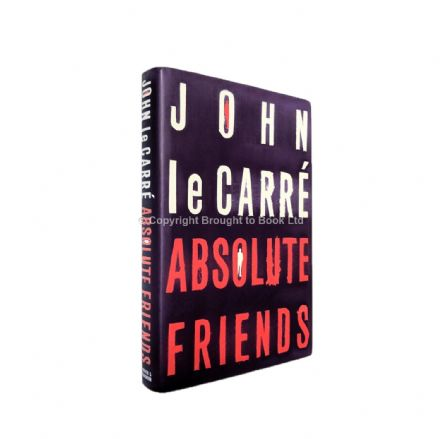 Absolute Friends Signed John le Carré First Edition Hodder & Stoughton 2004